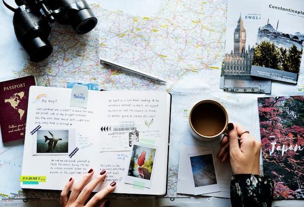 Een reis plannen