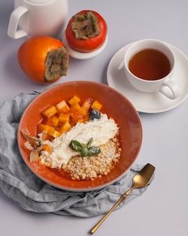 Een rijk en gezond ontbijt of lunch