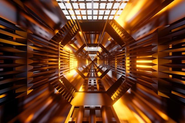 Een scifi-tunnel