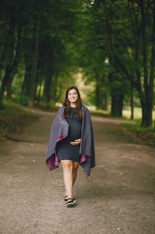 Een zwangere vrouw