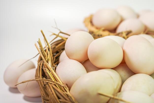 Eendeneieren, eiwitrijk voedsel heeft gezondheidsvoordelen.