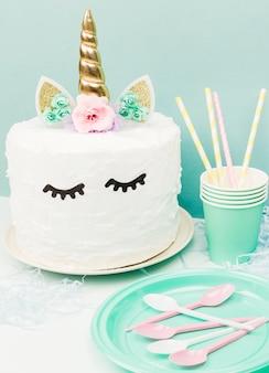 Eenhoorn cake