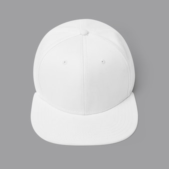 Eenvoudig accessoire voor hoofddeksels met witte en roze pet