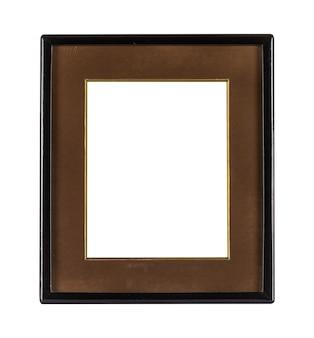 Eenvoudig frame met donkere randen