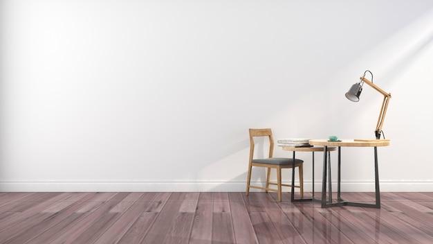 Eenvoudige meubels achtergrond