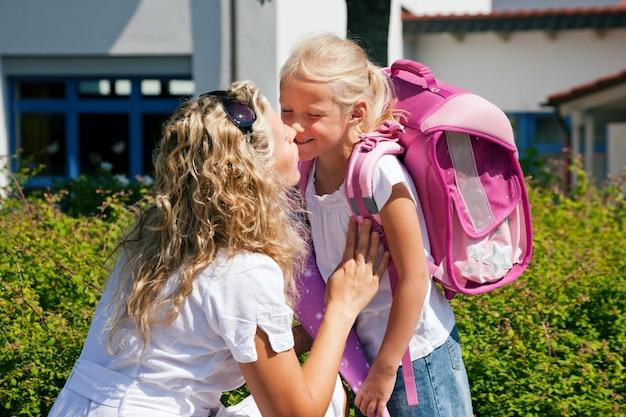 Eerste dag op school