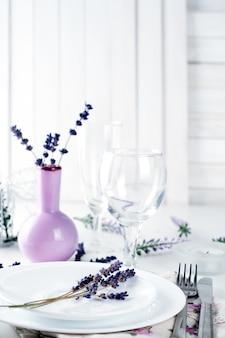 Eettafel in provençaalse stijl