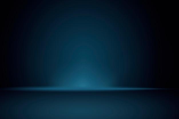 Effen donkerblauwe productachtergrond
