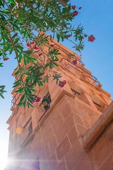Egypte, kapel in het catharinaklooster op een zonnige dag