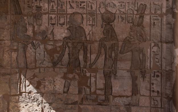 Egypte muurschildering