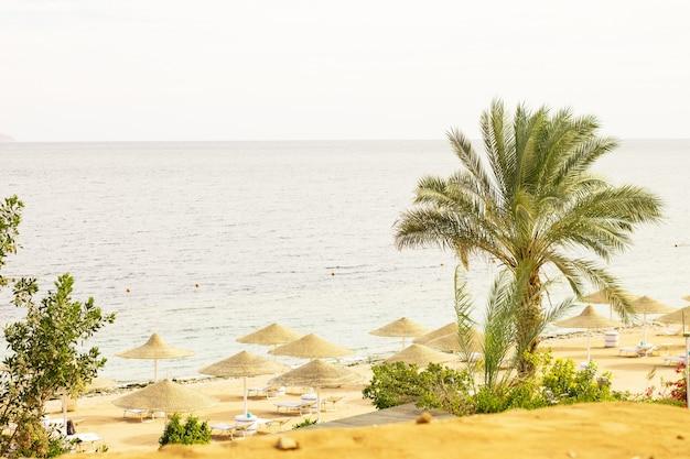 Egyptisch hotelresort en spa kustkust van de rode zee in sharm el sheikh sinaï egypte