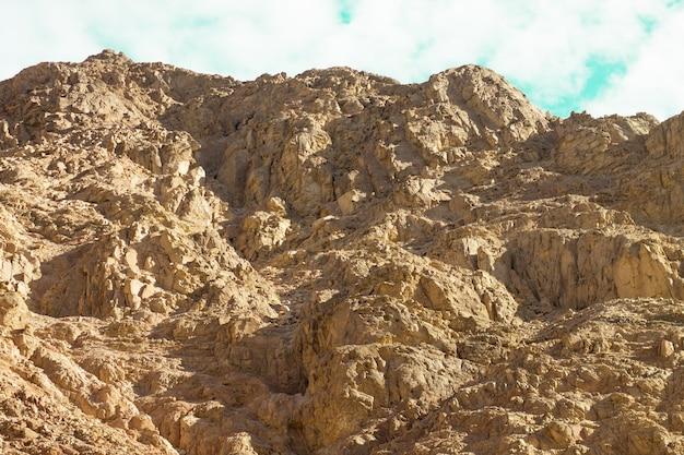Egyptische woestijn sinaï-schiereiland rode zee egypte