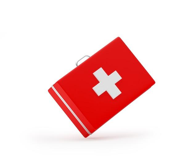 Ehbo-doos of medische koffer 3d