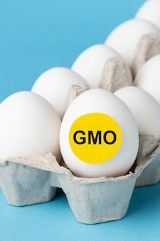 Eieren ggo chemisch gemodificeerd voedsel