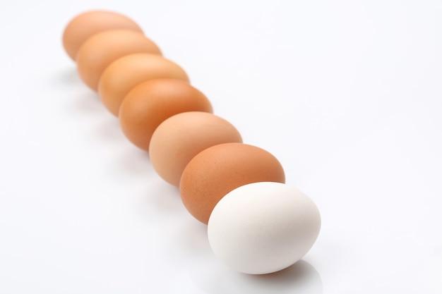 Eieren op tafel