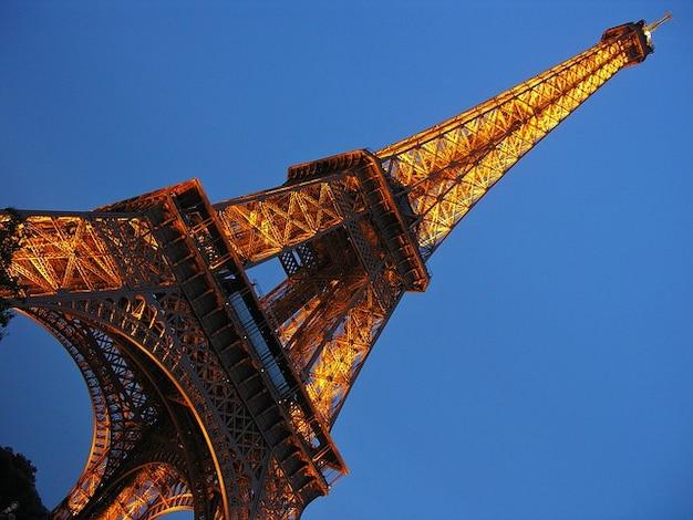 Eiffel parijs landmark tower stad frankrijk