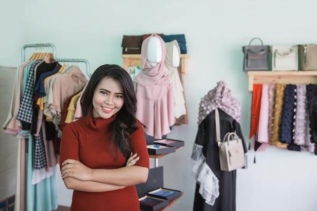 Eigenaar van een kleine modewinkel