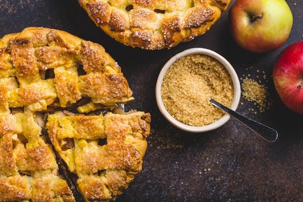 Eigengemaakte appeltaart