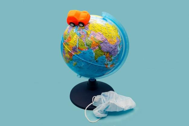 Einde van quarantaine. coronavirus pandemisch concept. stop coronavirus.