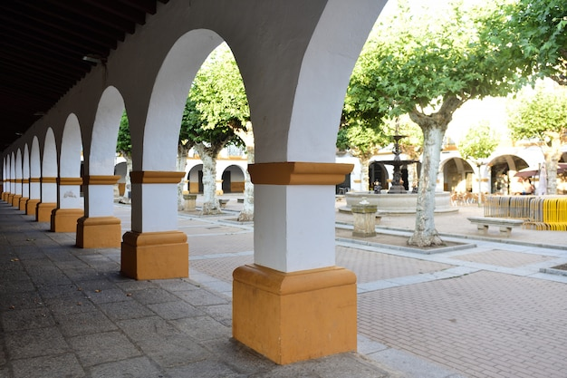 El buen alcade square van ciudad rodrigo, salamanca province, castilla leon, spanje