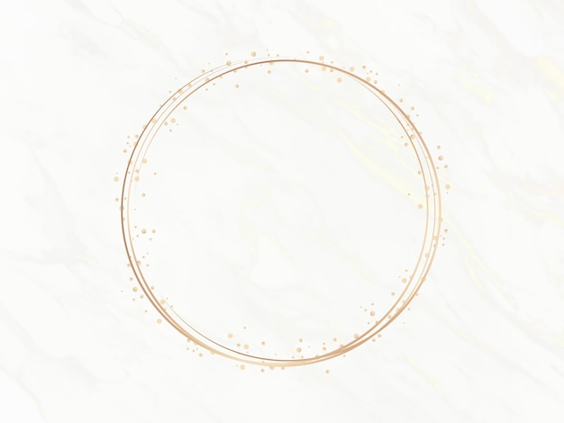 Elegant cirkelframe