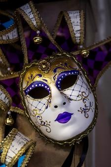 Elegant masker van venetiaans carnaval