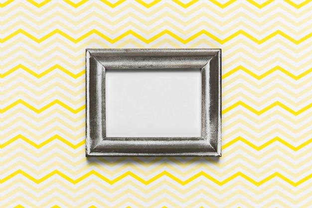 Elegant retro frame met patroonachtergrond