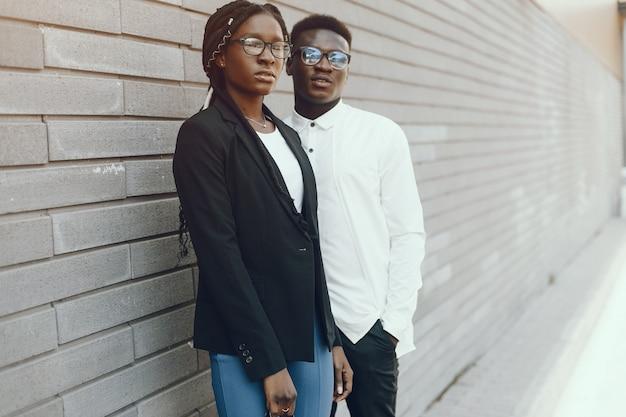 Elegant zwart paar
