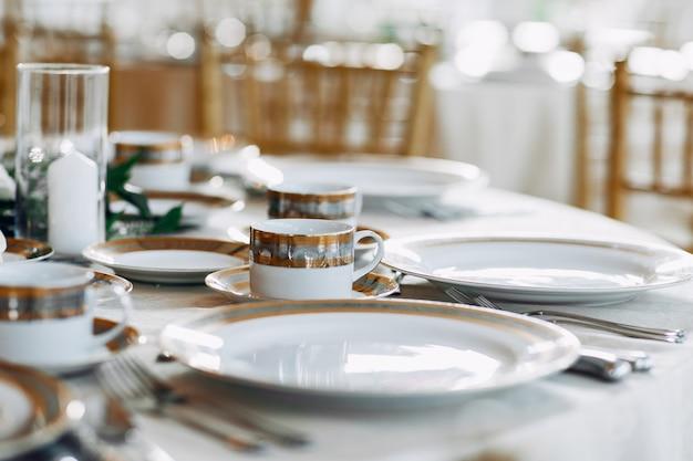 Elegante huwelijksgerechten