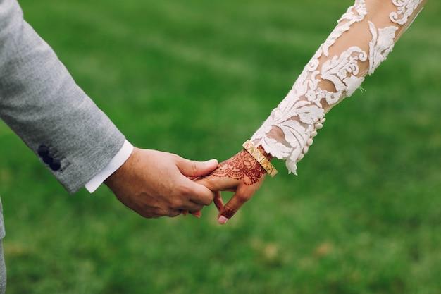 Elegante indiase bruiloft