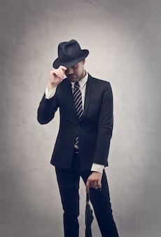 Elegante stijlvolle zakenman
