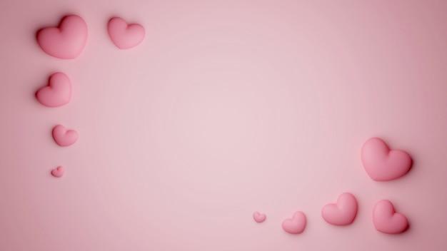 Elegantie achtergrond van viering valentijn dag.