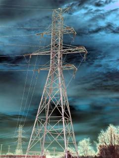 Elektriciteit, digitalart