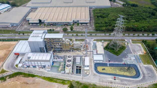Elektriciteitscentrale levering voor bedrijventerrein