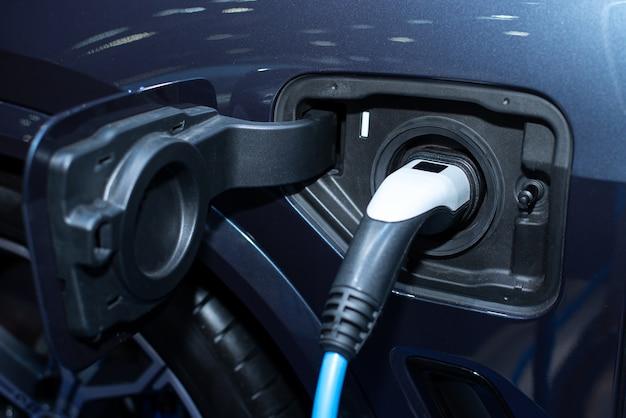 Elektrische energie opladen voor auto