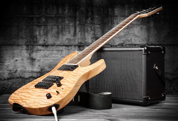 Elektrische gitaar en versterker