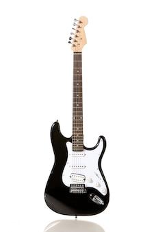 Elektrische gitaar geïsoleerd