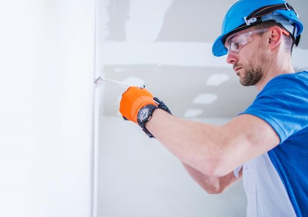 Elektrische installatie voorbereiden