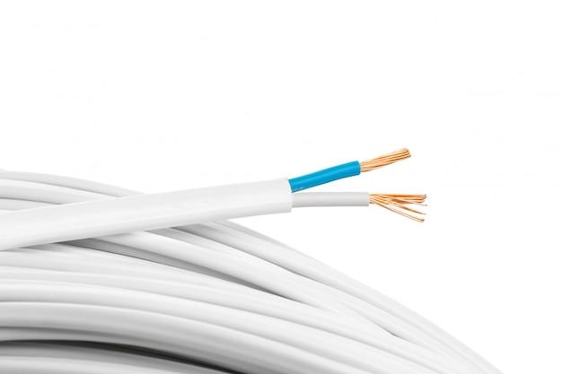 Elektrische kabelsclose-up