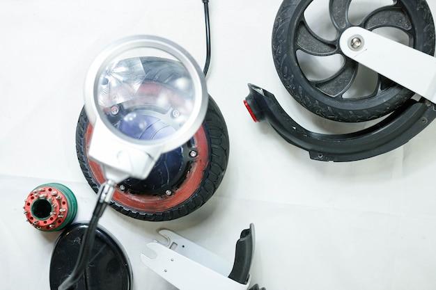 Elektrische motorreparatie elektrisch scooterwiel milieuvriendelijke reparatieservice voor elektrische voertuigen