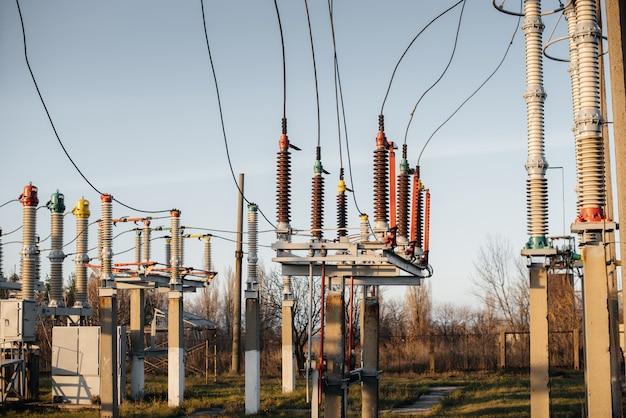 Elektrische onderstationapparatuur