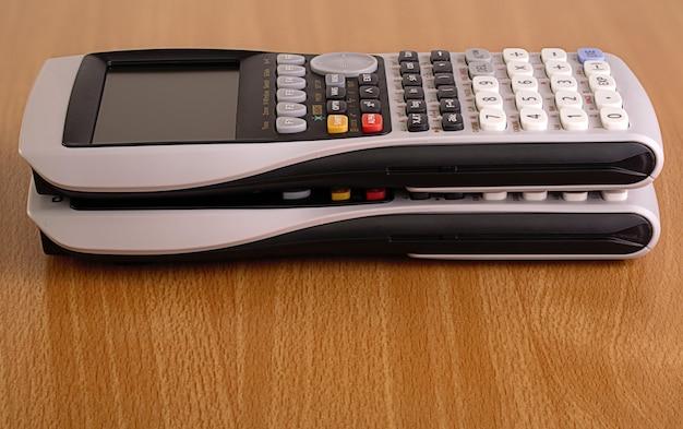 Elektrische rekenmachine voor op kantoor