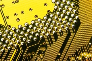 Elektronisch circuit plaat-kaart