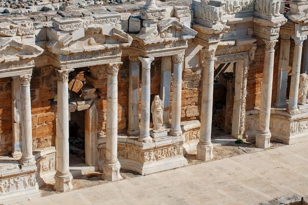 Elementen van het oude amfitheater