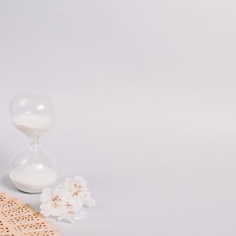 Elementen voor een ontspannende massage in een spa