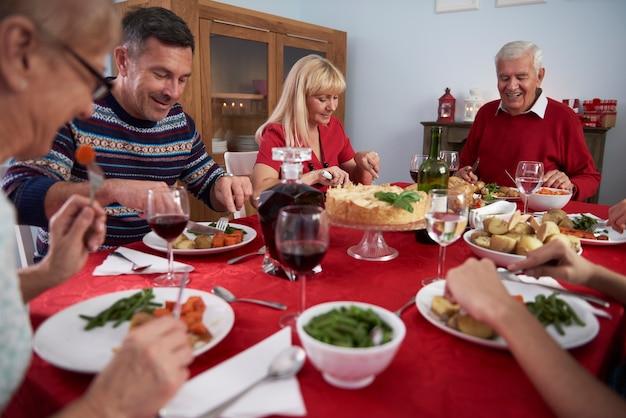 Elk jaar traditie met het hele gezin
