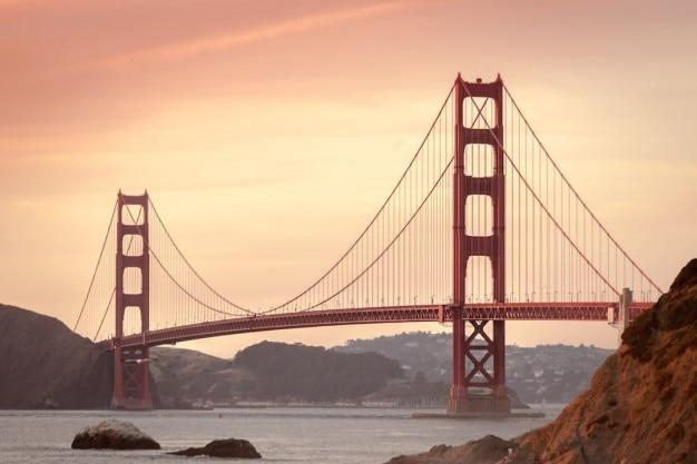 Emblematische brug