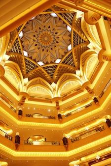 Emirates palace in abu dhabi