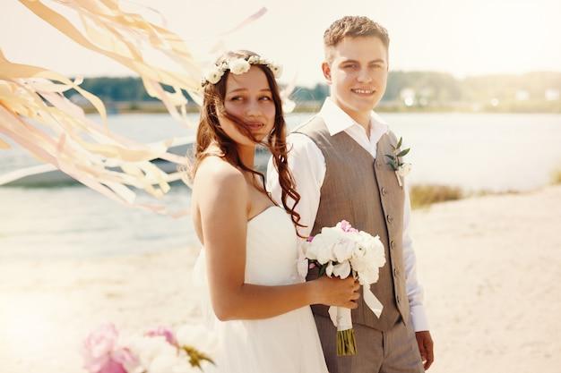 Emotioneel moment van trouwdag