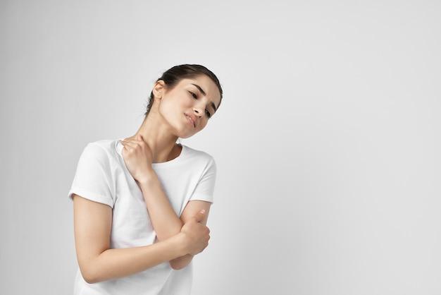 Emotionele ongelukkige vrouw grote problemen behandeling
